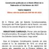 Imagen: Constitución Política De Los Estados Mexicanos PDF